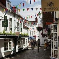 Lymington on Market Day