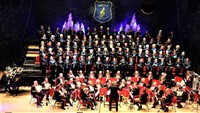 The Milton Glee Choir with the Royal Marines Band