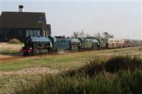 Romney, Hythe & Dymchurch Railway + Fish & Chips