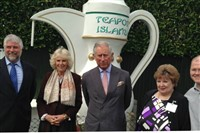 Teapot Island with Cream Tea